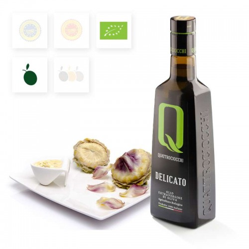 Organic EVO oil Delicato - Buy extra virgin olive oil