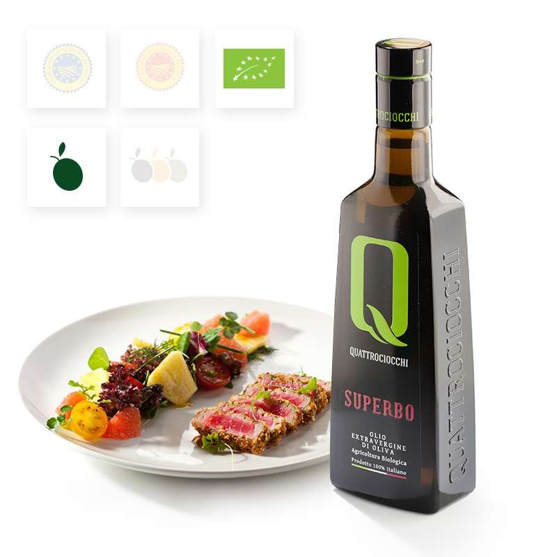 Organic EVO Oil Superbo - Buy Extra Virgin Olive Oil