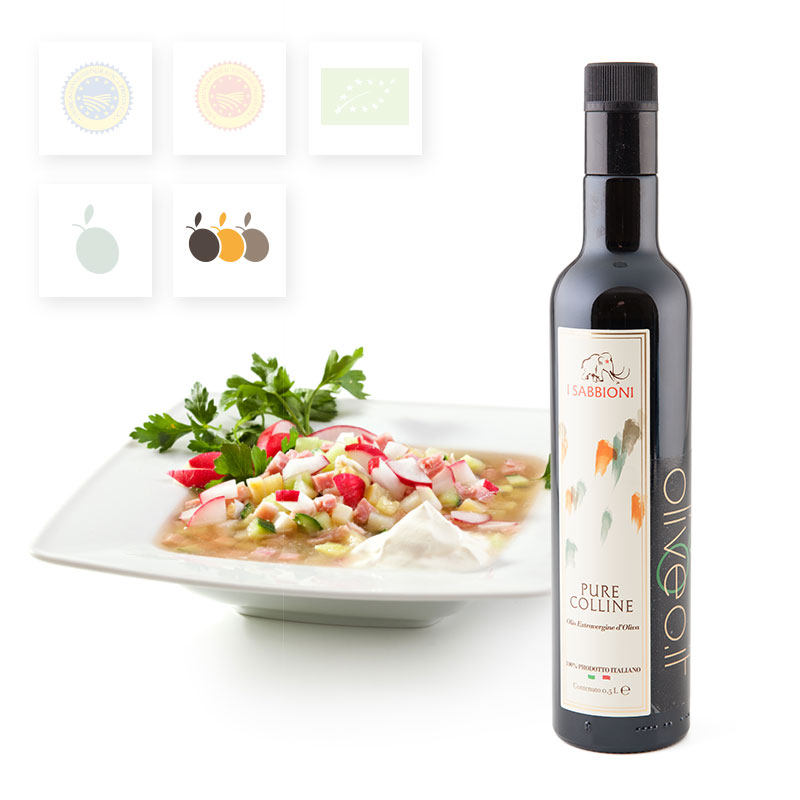 Huile d'olive extra vierge Pure colline - Acheter de l'huile d'olive extra vierge
